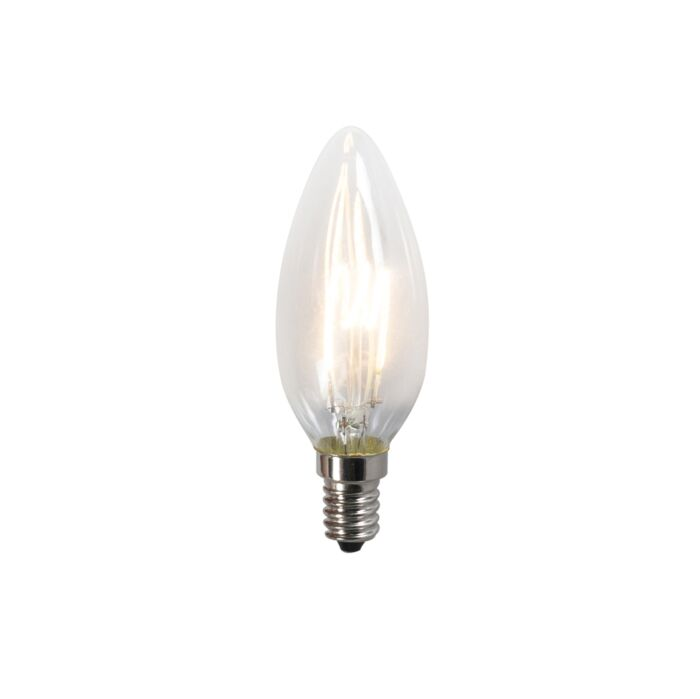 Усукана-LED-лампа-C35-2W-2200K-прозрачна