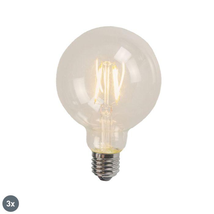 Комплект-от-3-E27-LED-нажежаема-жичка-G125-4W-470-lm-2700K