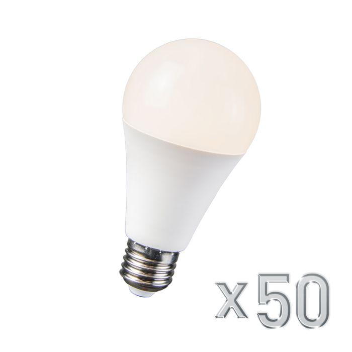LED-лампа-10W-E27-B60-комплект-от-50-броя