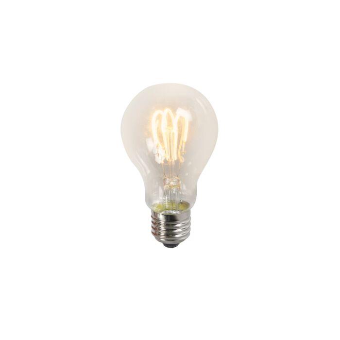 Усукана-нишка-LED-лампа-A60-3W-2200K-прозрачна