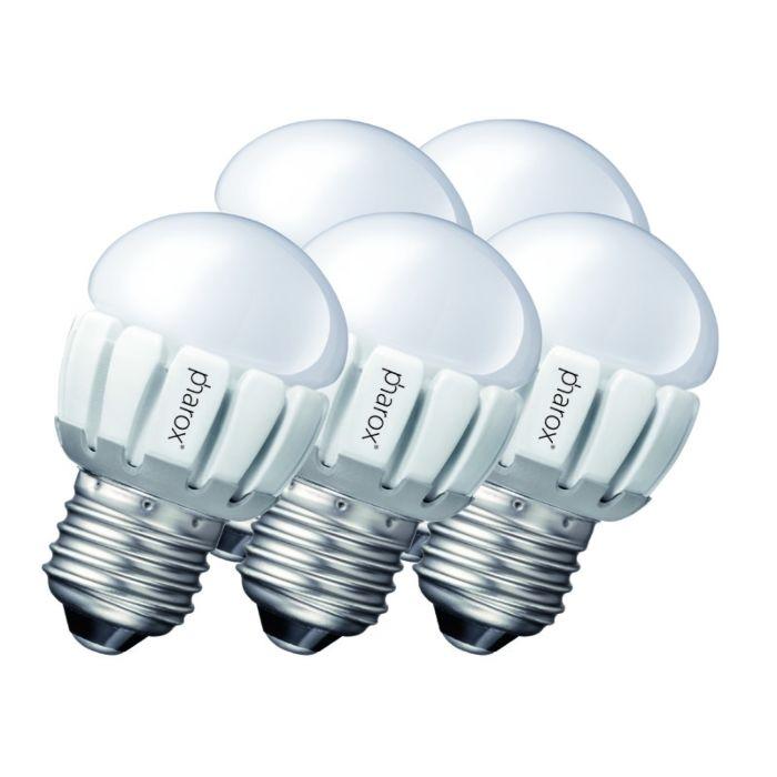 Комплект-от-5-Pharox-LED-200-P45-E27-5W-230V