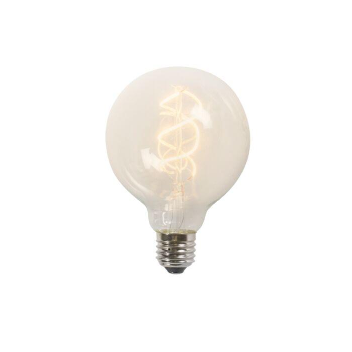Усукана-LED-лампа-G95-5W-2200K-прозрачна