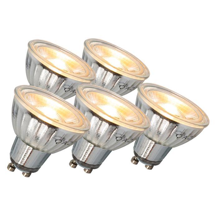 GU10-LED-лампа-7W-500LM-3000K-регулируем-комплект-от-5