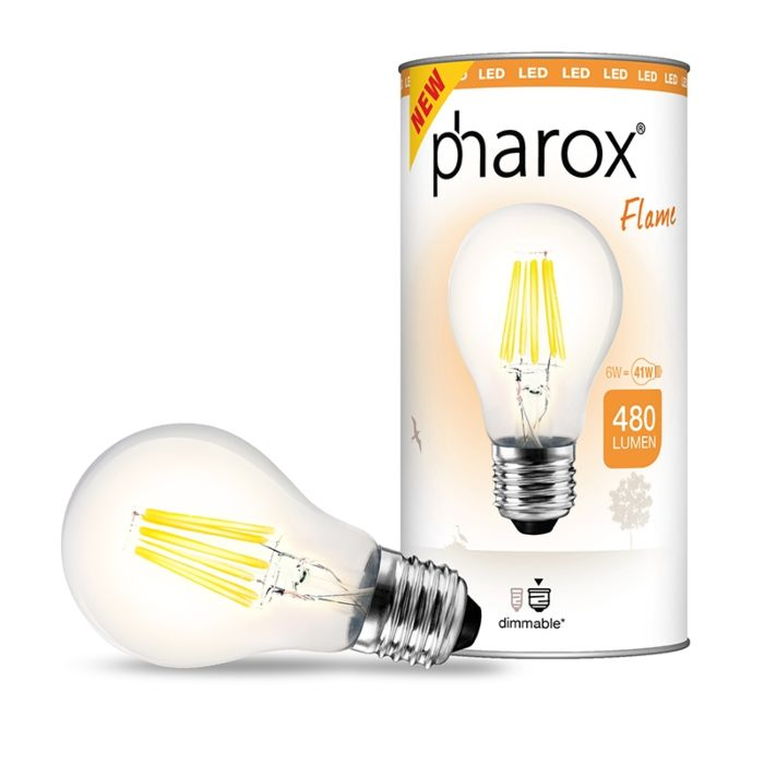 Pharox-LED-лампа-Flame-E27-6W-480-лумена