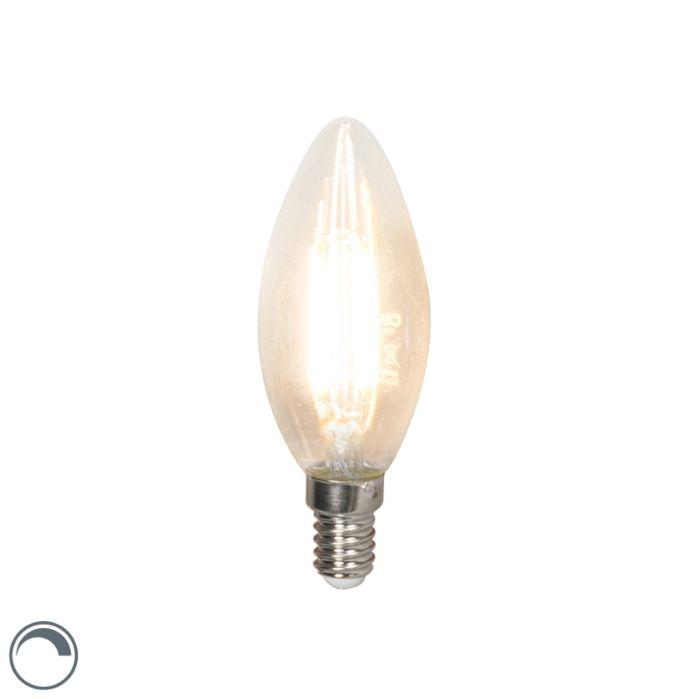 LED-лампа-с-нажежаема-жичка-E14-240V-3,5W-350lm-B35-димируема