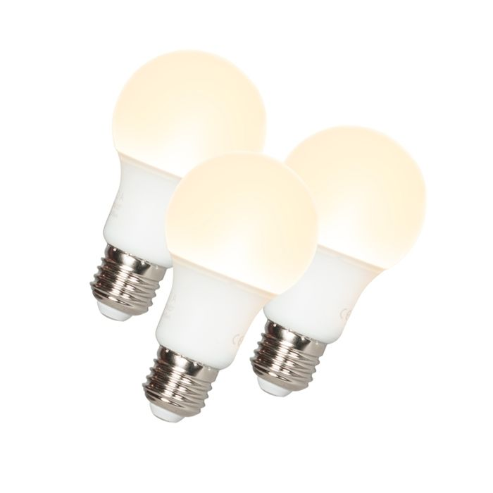 Комплект-от-3-LED-лампи-A60-E27-9W-3000K