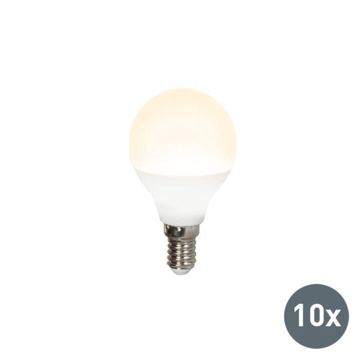 Комплект-от-10-LED-лампи-P45-E14-3W-3000K