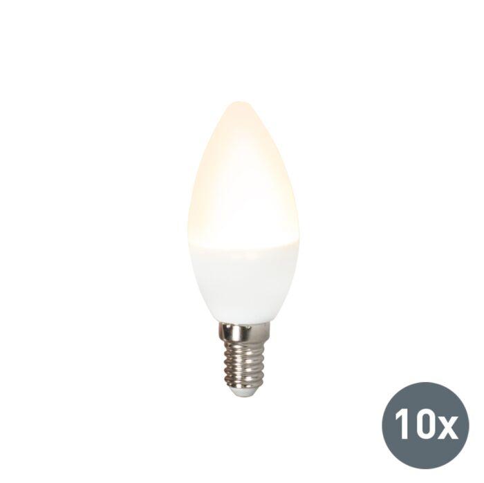 Комплект-от-10-LED-лампи-C37-E14-3W-3000K