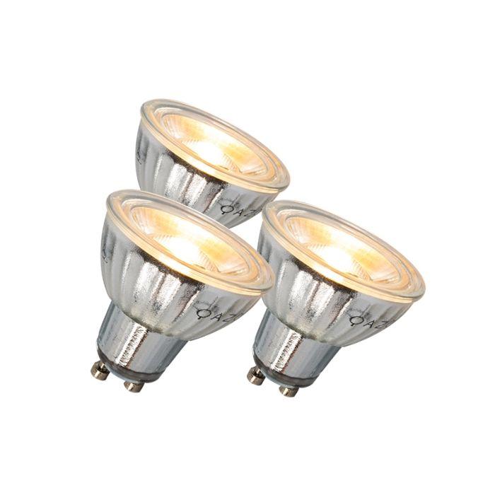 GU10-LED-лампа-7W-500LM-3000K-димируем-комплект-от-3