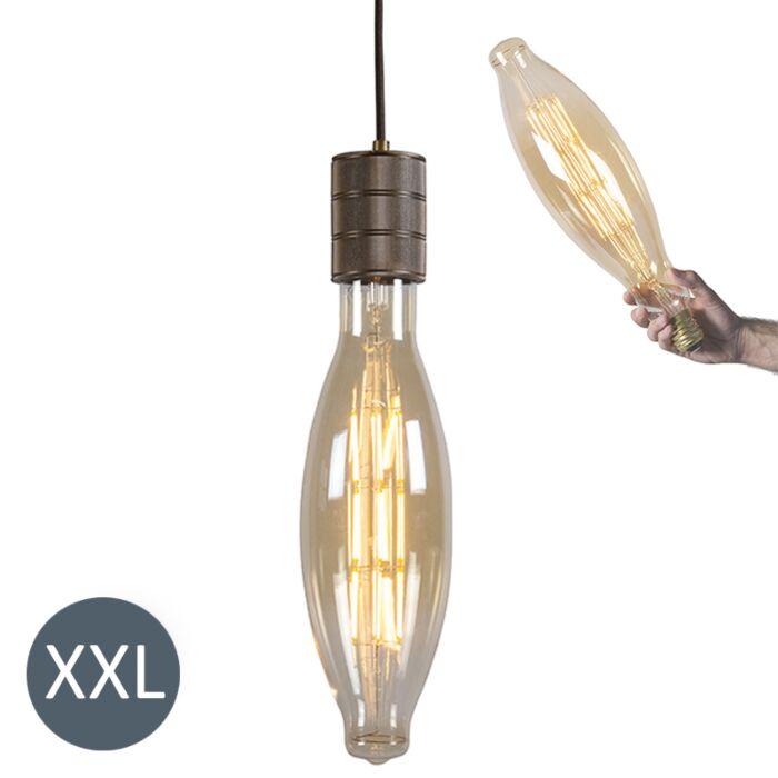 Висяща-лампа-Elips-бронз-с-димируема-LED-лампа