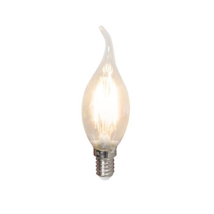 Светодиодна-лампа-с-нажежаема-жичка-E14-240V-3,5W-350lm-BXS35-с-възможност-за-регулиране
