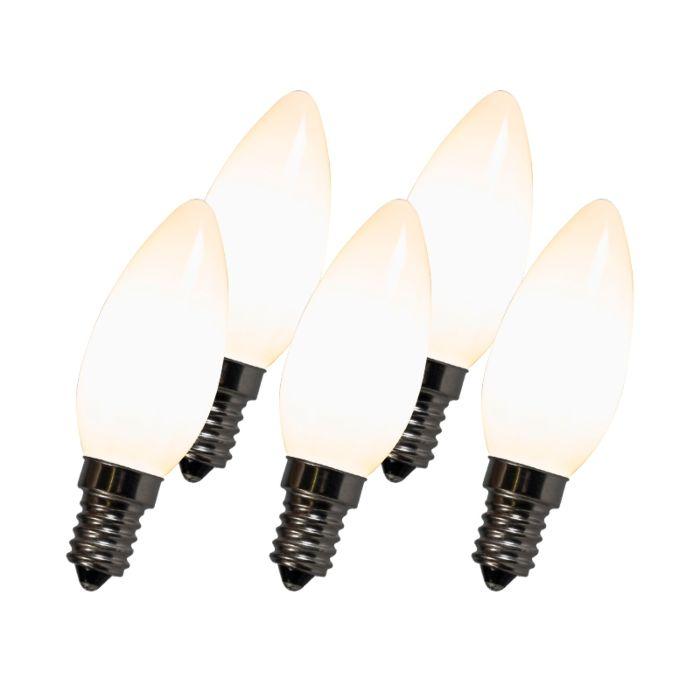 LED-лампа-с-нажежаема-жичка-C35-E14-2W-2700K-бял-комплект-от-5-броя