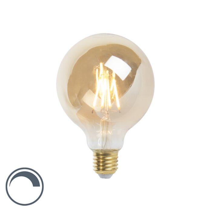 LED-E27-димируема-лампа-с-нажежаема-жичка-G95-goldline-360lm-2200K