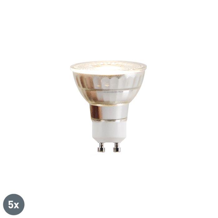 Комплект-от-5-GU10-LED-лампи-COB-5W-380lm-2700K