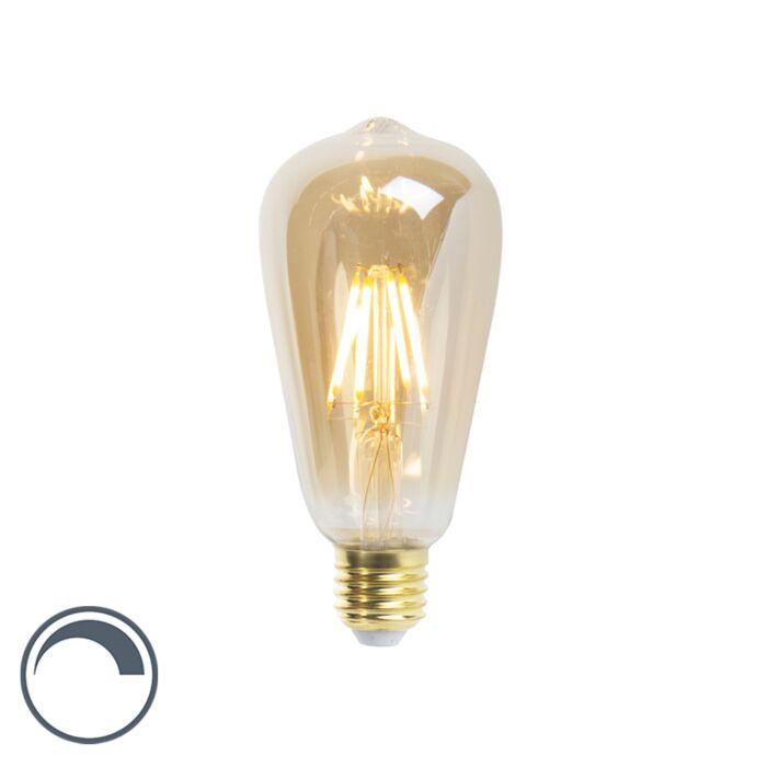 LED-лампа-с-нажежаема-жичка-ST64-E27-5W-360-лумена-2200K-димируема