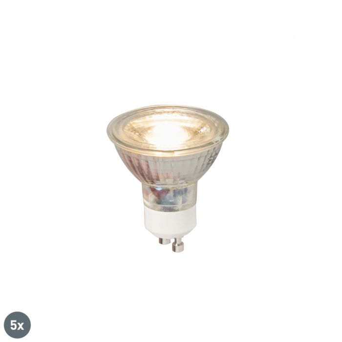 Комплект-от-5-GU10-LED-лампа-COB-5W-380LM-3000K