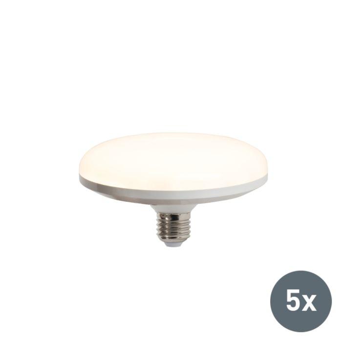 Комплект-от-5-LED-лампи-UFO-E27-18W-топло-бяло