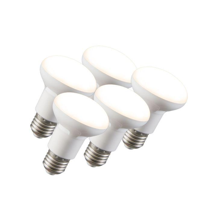 Комплект-от-5-LED-рефлекторни-лампи-R63-E27-240V-8W-2700K-димируеми
