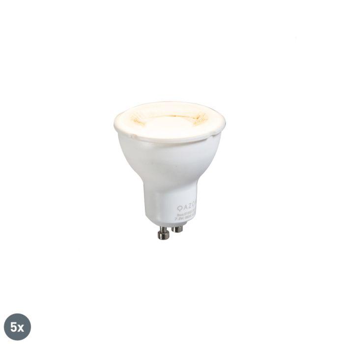 Комплект-от-5-GU10-лампа-7.5W-3000K
