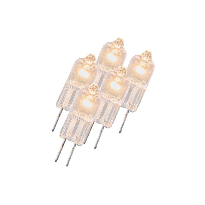 Комплект-от-5-халогенни-лампи-G4-5W-12V-ясен