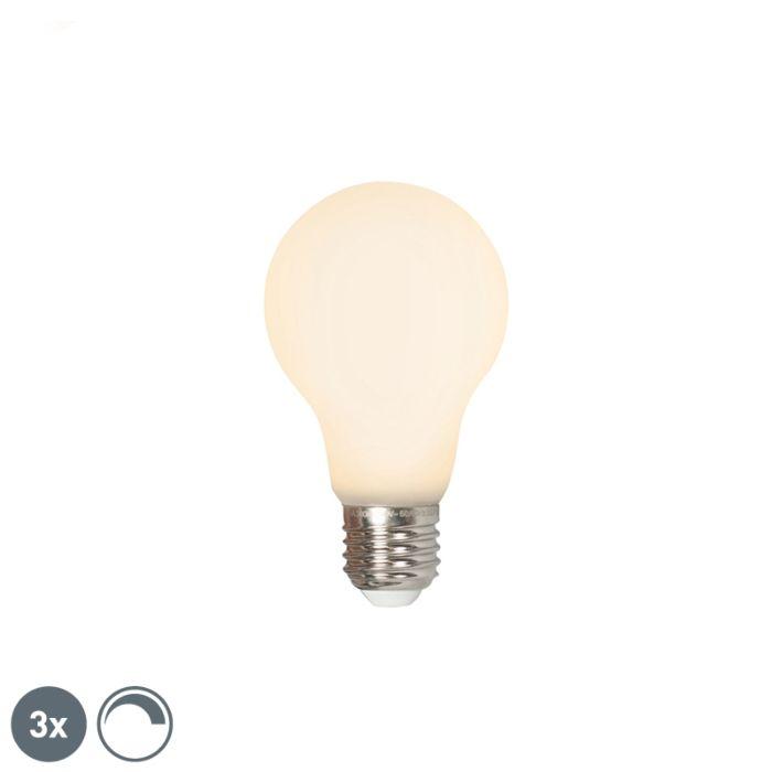 Комплект-от-3-LED-E27-240V-4W-380lm-с-възможност-за-регулиране