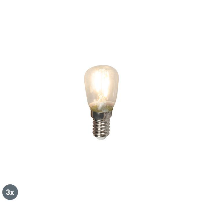 Комплект-от-3-E14-LED-лампи-с-нажежаема-жичка-T26-1W-100lm-2700-K.