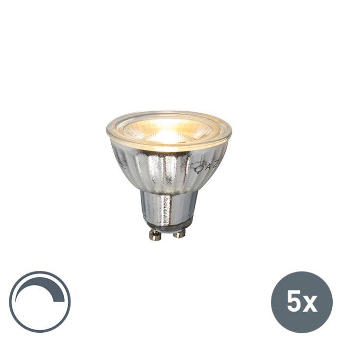 Комплект-от-5-GU10-LED-лампа-230V-5W-380LM-2700K-димируема