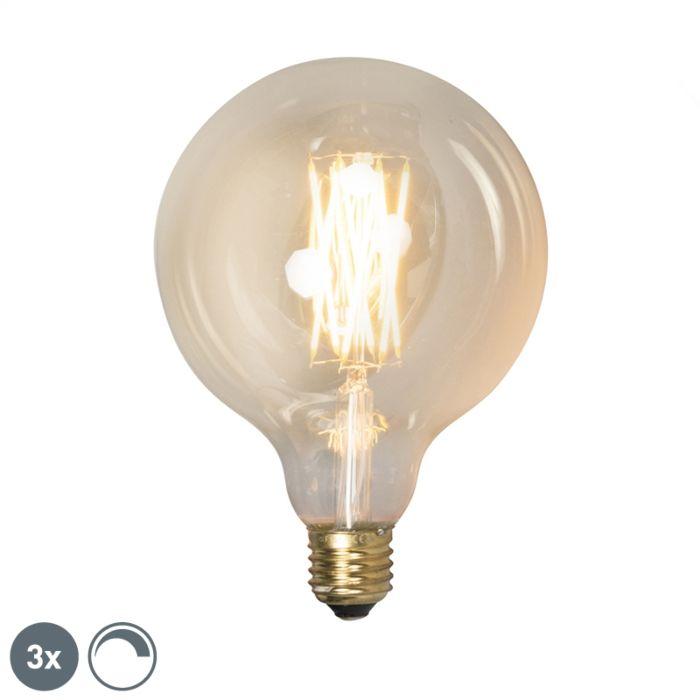 Комплект-от-3-E27-димируеми-LED-лампи-G125-goldline-320lm-2100-K.