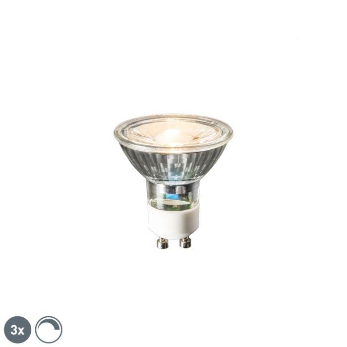 Комплект-от-3-GU10-LED-лампи-6W-450-лумена-2700K-димируеми
