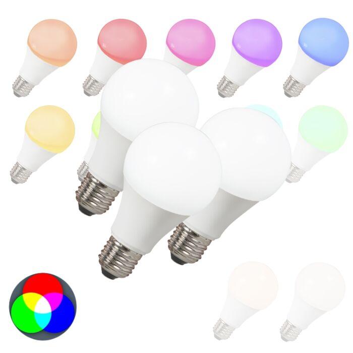 Комплект-от-3-LED-крушки-E27-240V-7W-500lm-A60-Smart-Light