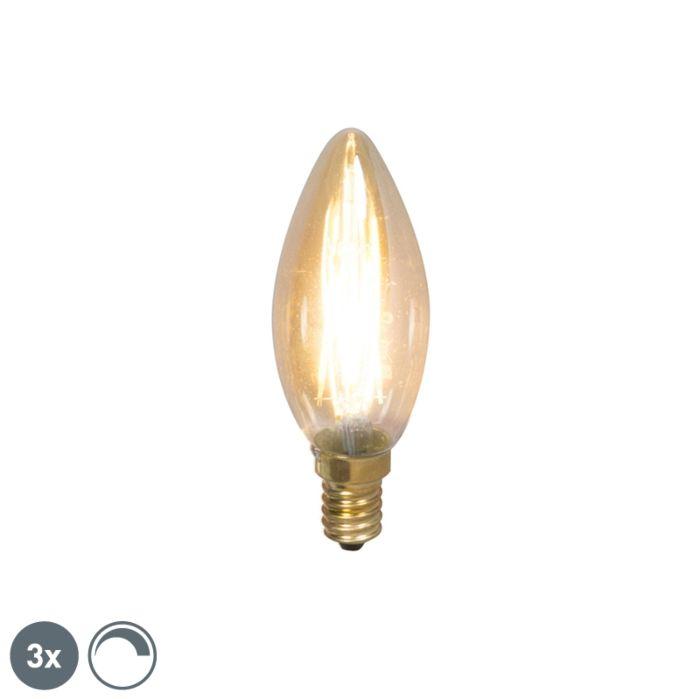 Комплект-от-3-E14-димируеми-LED-лампи-с-нажежаема-жичка-200lm-2100-K.