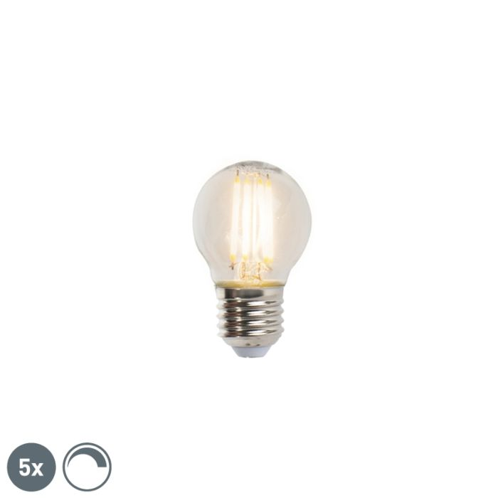 Комплект-от-5-E27-димируеми-LED-лампи-с-нажежаема-жичка-5W-470lm-2700K