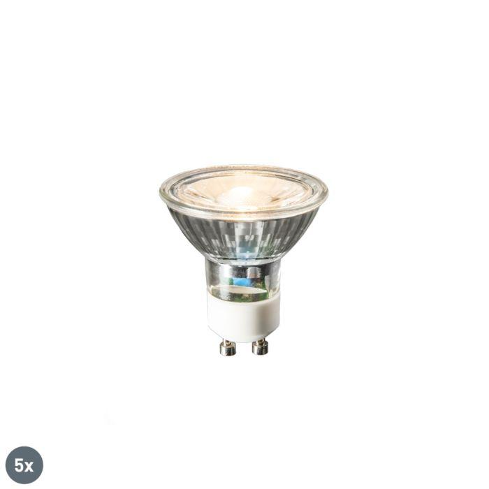 Комплект-от-5-GU10-LED-лампи-COB-3W-230lm-2700K