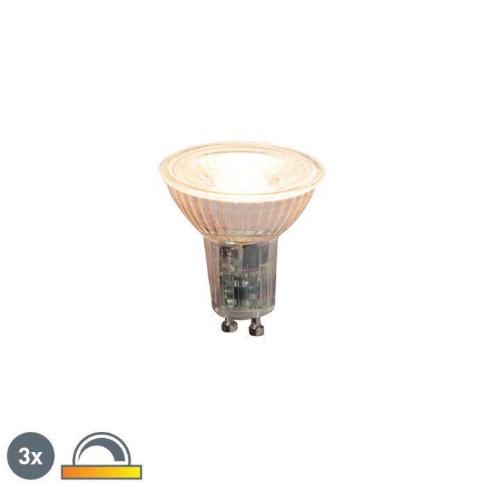 Комплект-от-3-GU10-димируеми-LED-лампи-5.5W-360lm-2000K---2700K