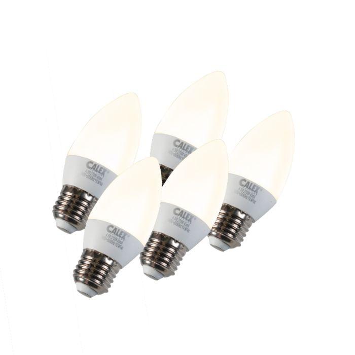 Комплект-от-5-лампи-за-свещи-LED-E27-5W-240V-2700K-димируем