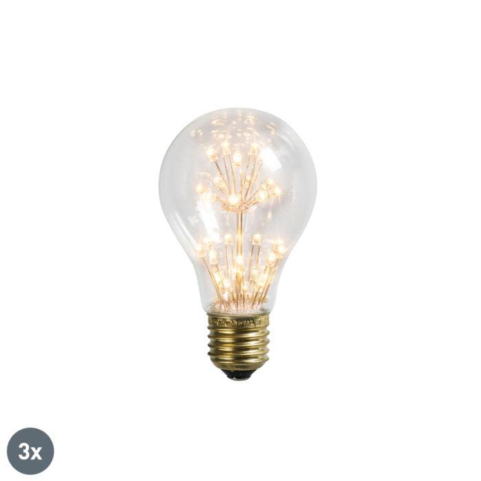 Комплект-от-3-LED-лампи-E27-1,5W-/-136LM
