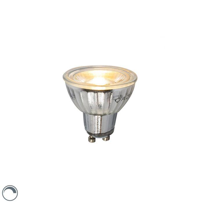 GU10-LED-лампа-7W-500LM-2700K-димируема