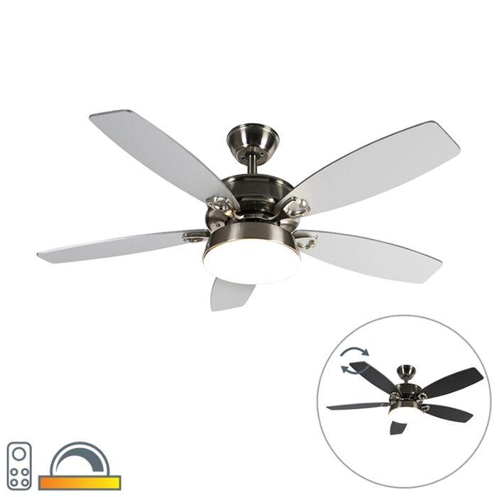 Таванна-вентилаторна-стомана-с-дистанционно-управление-с-LED---Malaki