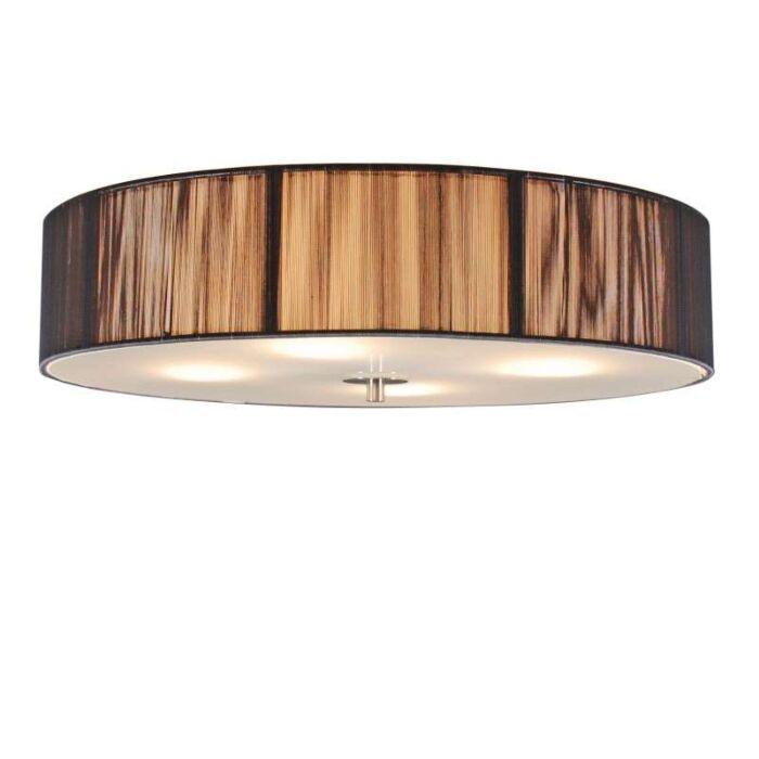 Класическа-таванна-лампа-антрацит-50-см---Въже