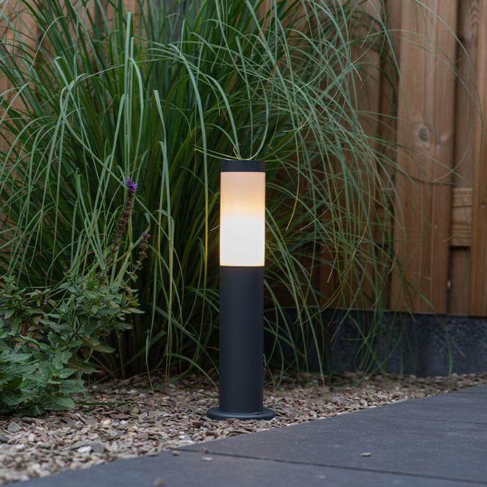 Външен-стълб-за-лампа-антрацит-45-см-IP44---Rox