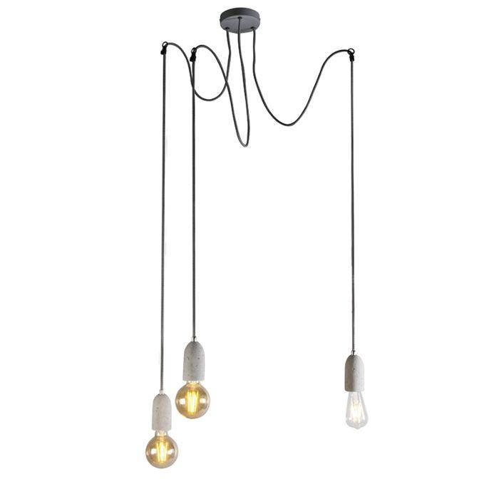 Индустриална-висяща-лампа-сив-бетон---Cava-3