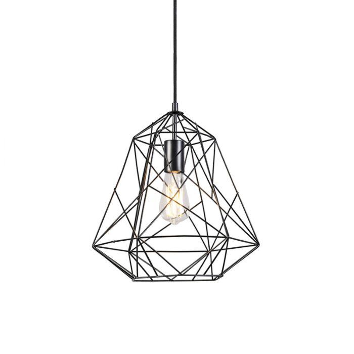 Индустриална-висяща-лампа-черна---Framework-Basic