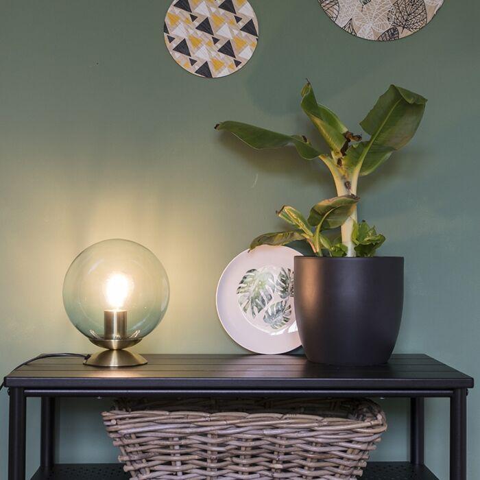 Арт-деко-лампа-за-маса-месинг-със-синьо-стъкло---Pallon