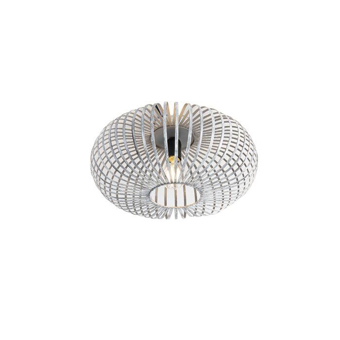 Дизайнерска-таванна-лампа-сива---Йохана