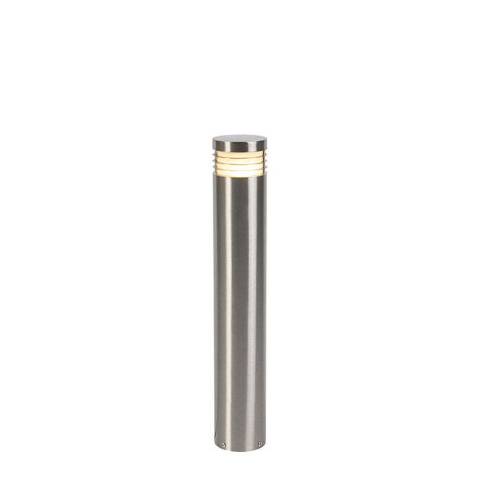 Модерна-външна-лампа-стомана-60-cm-IP44---Doc